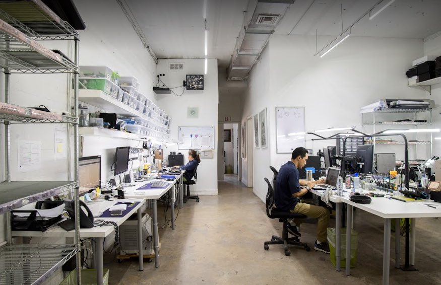 Our Electronic Device Repair Lab in Miami Design District / Wynwood